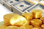 قیمت سکه کاهش و ارز افزایش یافت