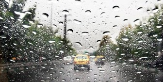وقوع رگبار باران در نقاط مختلف کشور