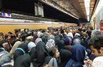 ساندویچ کالبد و تن در مترو دروازه دولت