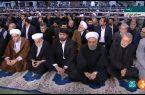 حضور سران قوا در مراسم نمازجمعه تاریخساز تهران