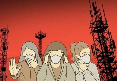 آتش زدن دکلهای مخابراتی ۵G به علت ارتباط با شیوع کرونا!